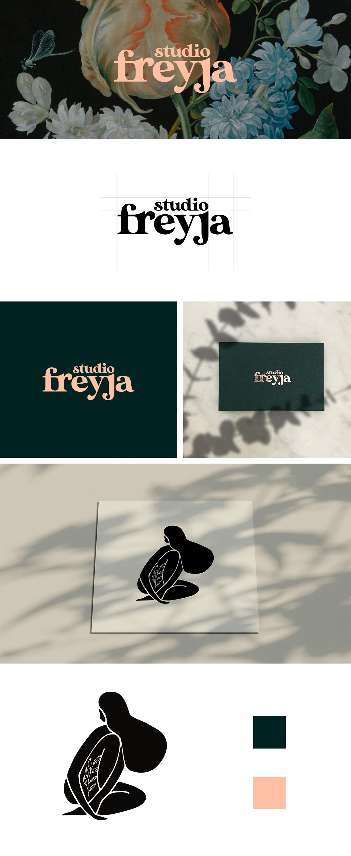 Identité visuelle Freyja portolio